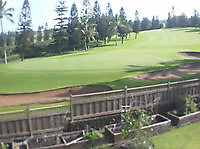 Pukalani Country Club Golf Course (6th hole) on Maui Maui United States of America - Webcams Abroad live images