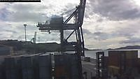 Container Terminal Webcam Otago Harbour New Zealand - Webcams Abroad live images