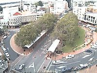 Octagon Civic Centre roof Dunedin New Zealand - Webcams Abroad live images