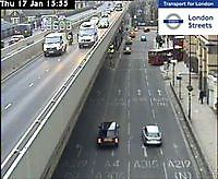 Traffic Cam    Talgarth Rd by Butterwick Road   London  UK London United Kingdom - Webcams Abroad live images