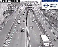 Traffic Cam  M41 West Cross Route   London  UK London United Kingdom - Webcams Abroad live images