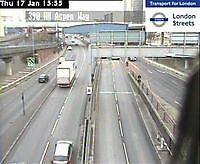 Traffic Cam   Limehouse Tunnel by Aspen Way  London  UK London United Kingdom - Webcams Abroad live images