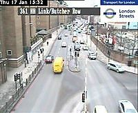 Limehouse Tunnel  London  UK London United Kingdom - Webcams Abroad live images