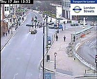 Traffic Cam  Hammersmith Broadway   London  UK London United Kingdom - Webcams Abroad live images