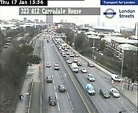 Traffic Cam  A102  Blackwall Tunnel  London  UK London United Kingdom - Webcams Abroad live images