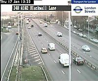 Traffic Cam  A102 (M) Dreadnought Street  London  UK London United Kingdom - Webcams Abroad live images