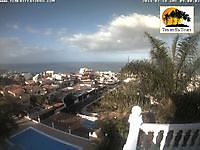 Weather Cam Costa Adeje Tenerife Spain Costa Adeje Spain - Webcams Abroad live images