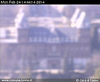 Panoramic view from Villa Gualino Turin Italy Turin Italy - Webcams Abroad live images