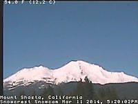 Mount Shasta CA cam 1 Mount Shasta United States of America - Webcams Abroad live images