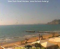 Weather Cam Arillas Greece Arillas Greece - Webcams Abroad live images