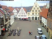 Marketplace in Lemgo Germany Lemgo Germany - Webcams Abroad live images