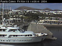 Webcam Puerto Calero Puerto Calero Spain - Webcams Abroad live images