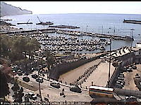 View over Funchal Harbour Funchal Portugal - Webcams Abroad live images