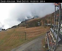 Vieuw at Seidl-Alm Saalbach Austria - Webcams Abroad live images