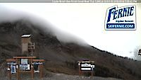 Webcam Fernie View of the Cedar Bowl Fernie Canada - Webcams Abroad live images