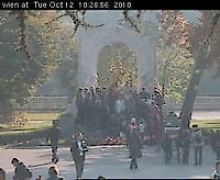 Webcam Johann-Strauss-Denkmal Vienna Austria - Webcams Abroad live images