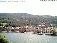 Webcam Heidelberg castle Heidelberg Germany - Webcams Abroad live images