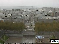 Webcam Square of Liberty Brest France Brest France - Webcams Abroad live images
