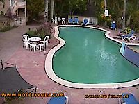 Webcam Hotel Kaoba Pool Cabarete Dominican Republic - Webcams Abroad live images