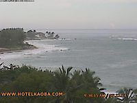 Webcam Cabarete main street Cabarete Bay Dominican Republic - Webcams Abroad live images