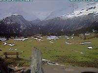 Webcam Alp Flix Savognin Switzerland - Webcams Abroad live images
