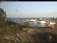 Sirevåg harbour, seen from Skolten Sirevåg Norway - Webcams Abroad live images