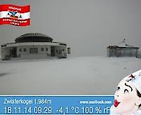 Ski and Snowboard Resort Zwölferkogel Austria - Webcams Abroad live images
